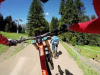 Claudio Caluori's DH Mountain Bike Course...
