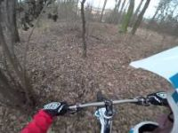 Statenice DH a trailbuilding 13.12.2014