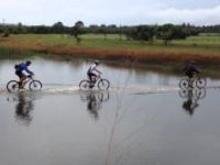 MTB Floating Bridge funny must see : Rosemary...