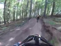 Bukovel downhill run POV
