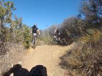 Fun part of Backbone Trail in between Zuma...