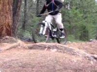 Jasper Alberta Mountain Biking: a quick jump...
