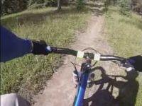 Mountain Biking: Trail 7 to Lake Annette in...