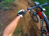 XC Ride: El Niño Damaged J-Drop Trail
