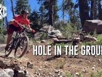 Mountain biking Hole in the Ground trail
