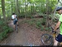 Fanshawe Lake trail bike ride on 2015-08-08