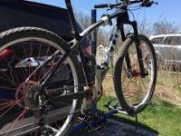 MTB'ing Fanshawe Lake Trail - April 23 2016