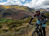 Mountain Biking the WOW during the fall