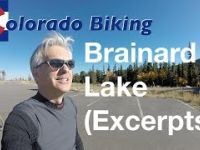 Mountain Biking at Brainard Lake Recreation Area