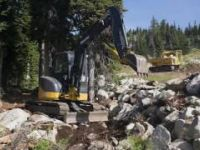 Construction Begins on Big White Mountain Bike...