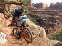 Mountain Biking Captain Ahab in Moab, Utah