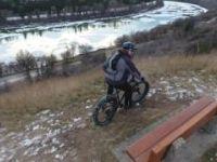 Steep and Deep Fat Bike with Phantom 4