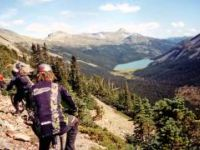 Taseko Lake to Jewel Bridge Over Warner Pass