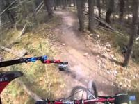 GoPro: Canmore Mountain Biking The Meadows To...