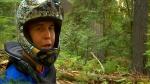 Trent Zoobkoff seshing Powerslave in Nelson BC