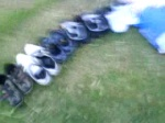 Four people...... uh....... 1,2,3,4,5,6 pairs...