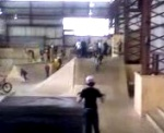 Double flip at rampfest