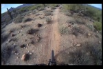Desert Singletrack in January  on my SS AM HT!