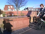 quick vid of sidehoping a bar hight flowerbed
