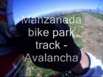 Manzaneda bike park /track - avalancha