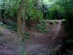 me @steetley woods (DH track)