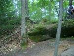 Ledge in Bradbury State Park