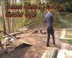 traxxas tmaxx 2.5 nitro rc monster turck