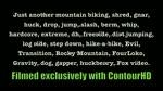 Biking, Shred, Gnar, Huck Drop...and stuff
