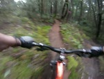 Sooke Mountain Cyclers ripping Fun Trail at...