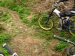Train down Stumpy2 and onto Whippy- Helmet Cam
