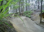 drop at the gully