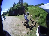 Mt Snow trail 13, rippin it up with JGOTTYA1