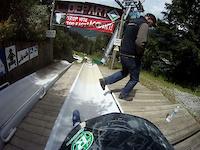 Morzine Luge GoPro