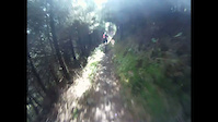 Afan Forest The Wall 'Zig Zags' GoPro HD