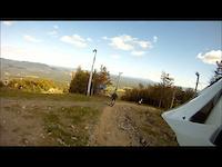Bromont, trail 9