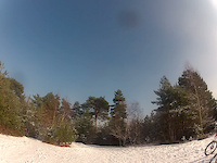 GoPro- Swinley Forest in the Snow