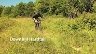 Downhill Hardtail - self shot
