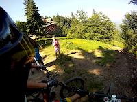 Bike Park Stożek - A-line