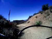 the luge off santiago truck trail