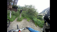 Blue pig Trail,  Hebden Bridge, Calderdale