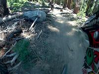 China Peak's Gnarly Trail