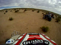 100's mc quad start district 37 desert race