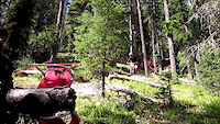 2012 Alberta DH Provincials at Moose Mountain...