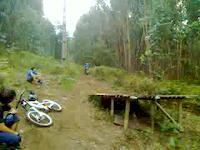ultimo salto braga downhill track