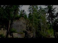 Whistler Sidetrack drop crash - David Davis