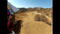 gopro footage. simi valley trails hummingbird,...