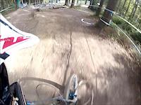 IXS Downhill met klein foutje ;-)