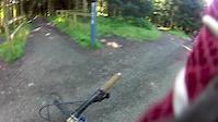 Berm Baby Berm Glentress GoPro Headcam