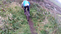 meself and hanley steep track new section