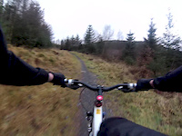 Mabie Forest, Red Route, 1st Descent
